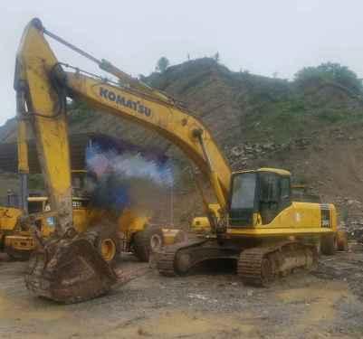 贵州出售转让二手4200小时2012年小松PC360挖掘机