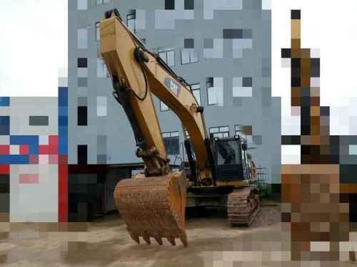 贵州出售转让二手5832小时2014年卡特彼勒340D2L挖掘机