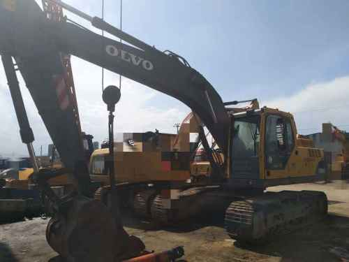 甘肃出售转让二手8000小时2008年沃尔沃EC210BLC挖掘机