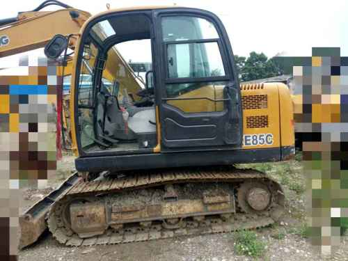 贵州出售转让二手4875小时2011年徐工XE85C挖掘机