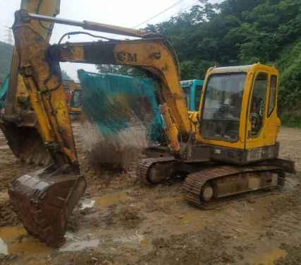 贵州出售转让二手6800小时2011年山重建机JCM906D挖掘机