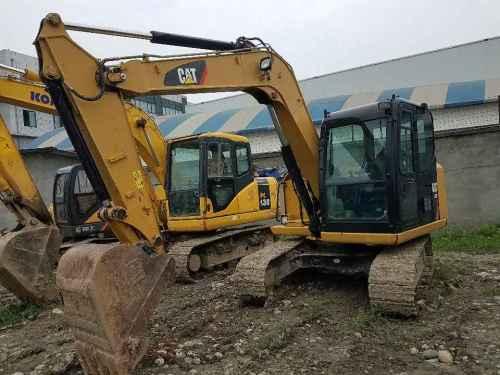 四川出售转让二手2000小时2014年卡特彼勒307E挖掘机