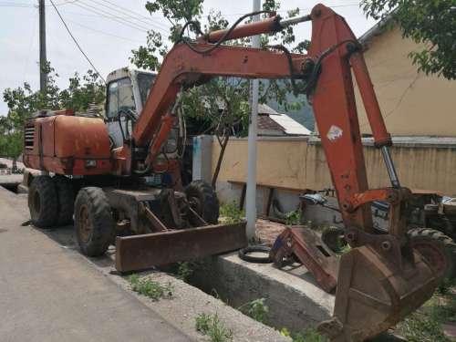 辽宁出售转让二手10000小时2007年福临机械WY80挖掘机