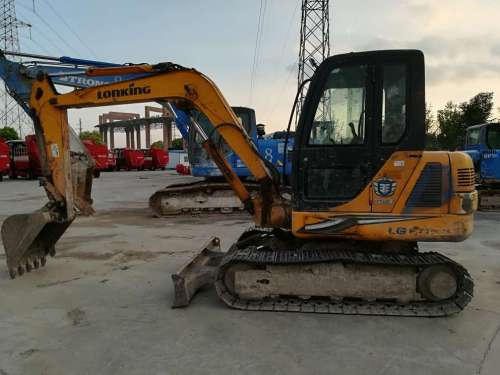 安徽出售转让二手8000小时2009年龙工LG6065挖掘机