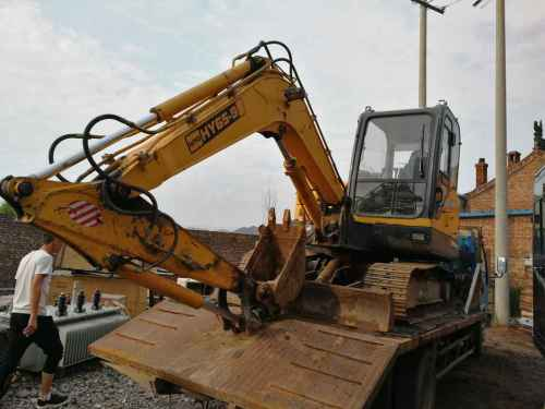山西出售转让二手4000小时2014年恒岳重工HY65挖掘机