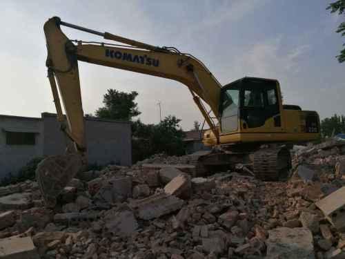 山东出售转让二手4523小时2013年小松PC200LC挖掘机