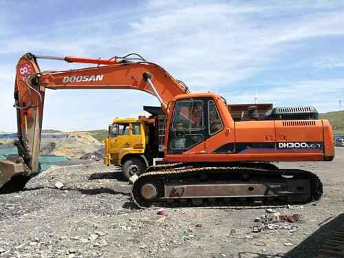 山西出售转让二手10000小时2008年斗山DH300LC挖掘机