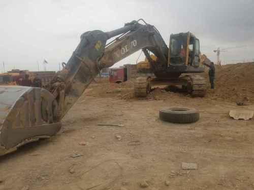 甘肃出售转让二手13000小时2009年沃尔沃EC360BLC挖掘机