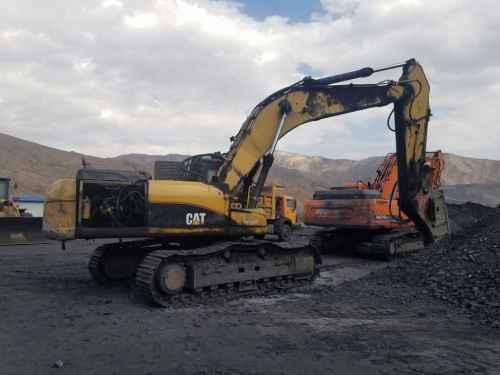 宁夏出售转让二手18000小时2008年卡特彼勒320D2挖掘机