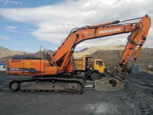 宁夏出售转让二手15000小时2008年斗山DH300LC挖掘机