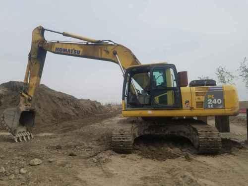 宁夏出售转让二手6500小时2008年小松PC240LC挖掘机