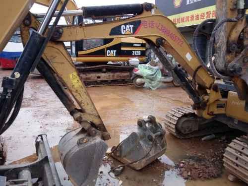 云南出售转让二手2600小时2008年卡特彼勒302C挖掘机