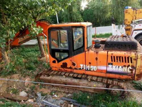 河北出售转让二手5600小时2010年腾翔TX150挖掘机