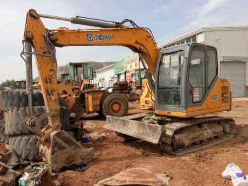 甘肃出售转让二手6000小时2012年徐工XE80挖掘机