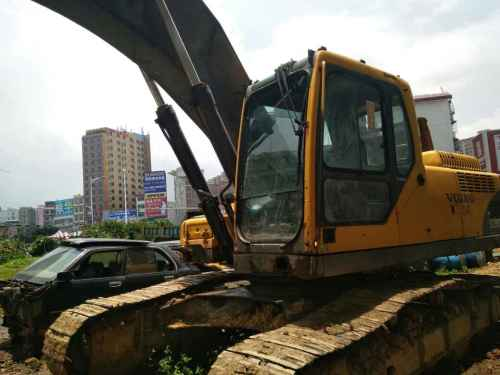 广西出售转让二手8564小时2009年沃尔沃EC290BLC挖掘机