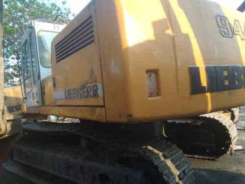 河北出售转让二手10000小时2011年利勃海尔944挖掘机