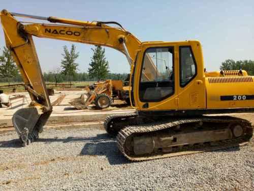 河南出售转让二手7000小时2012年南特NT80挖掘机