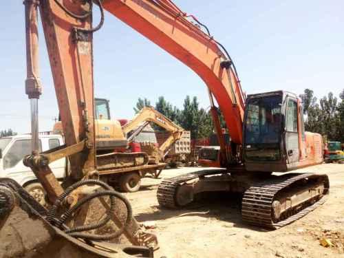 河北出售转让二手13000小时2006年日立ZX200LC挖掘机
