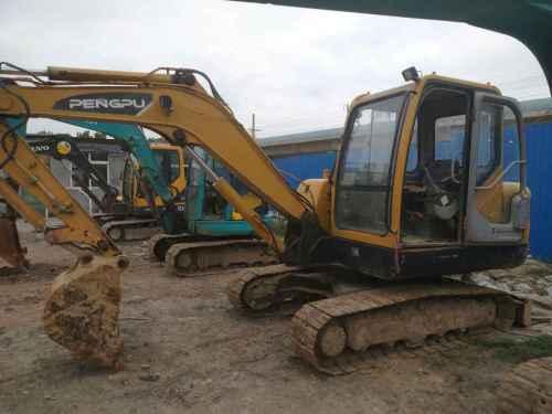山东出售转让二手12000小时2011年彭浦SW60E挖掘机