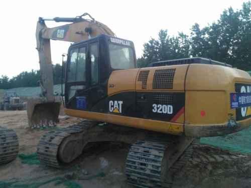 河南出售转让二手8500小时2011年卡特彼勒320D挖掘机