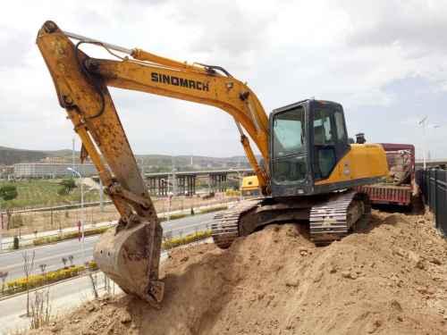 宁夏出售转让二手8000小时2012年国机重工ZG3150挖掘机