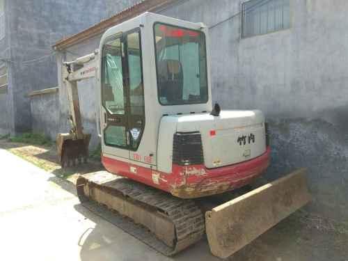 江苏出售转让二手7000小时2010年竹内TB150挖掘机