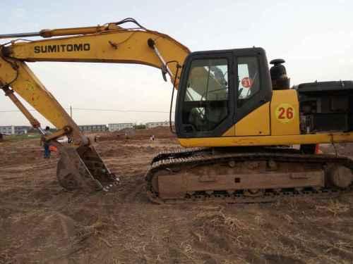 河北出售转让二手4000小时2012年住友SH210LC挖掘机