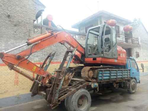 山西出售转让二手5000小时2010年福临机械WY80挖掘机