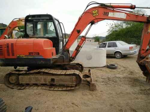河北出售转让二手6000小时2011年恒特重工HT60B挖掘机