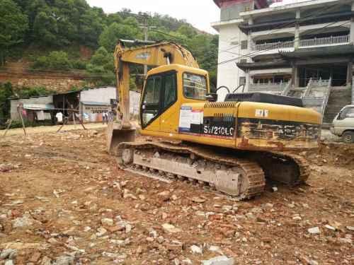 浙江出售转让二手19867小时2009年彭浦SW210LC挖掘机