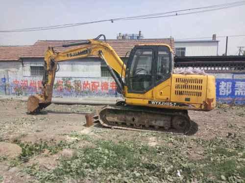 山东出售转让二手3000小时2011年泰安嘉和JH85挖掘机