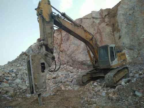 河南出售转让二手13000小时2008年利勃海尔R934B挖掘机