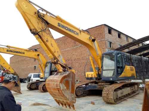 陕西出售转让二手2000小时2012年国机重工ZG3235挖掘机