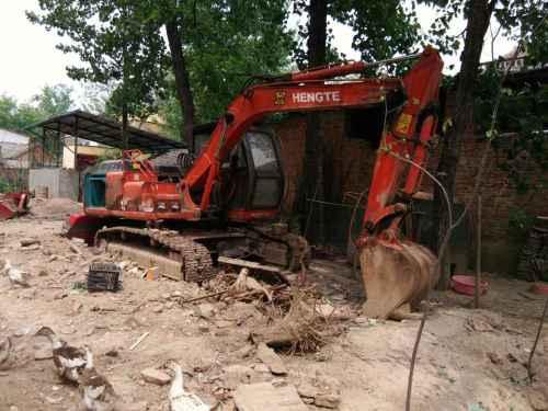 河南出售转让二手1000小时2009年恒特重工HT120B挖掘机