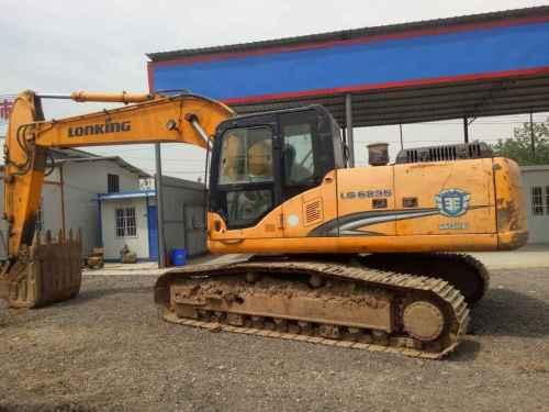 陕西出售转让二手3800小时2012年龙工LG6235挖掘机