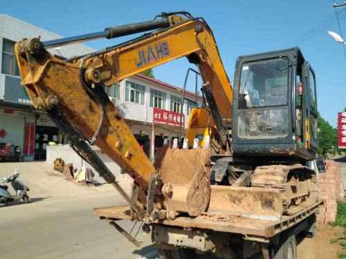 河南出售转让二手1500小时2015年泰安嘉和JH90挖掘机