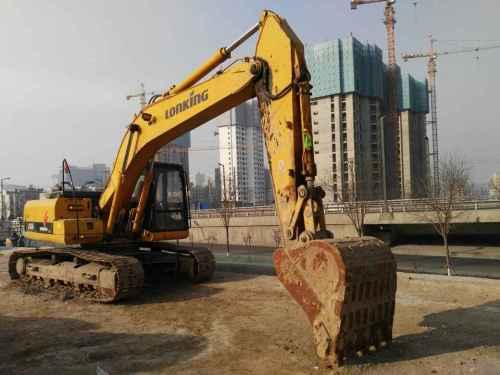 山西出售转让二手3000小时2009年龙工LG6225挖掘机