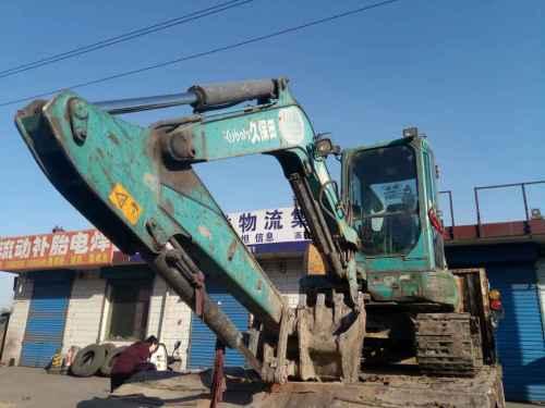 山西出售转让二手8300小时2009年久保田KX155挖掘机