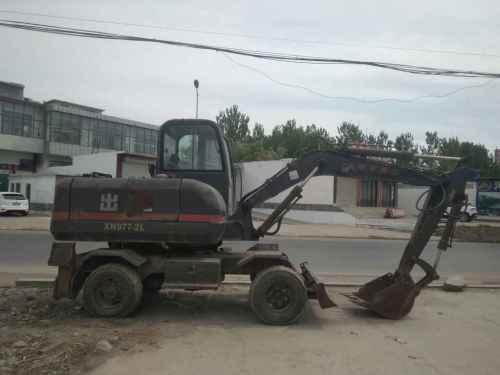 河北出售转让二手10000小时2010年犀牛重工XN977挖掘机