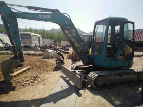 河北出售转让二手4580小时2010年久保田KX155挖掘机
