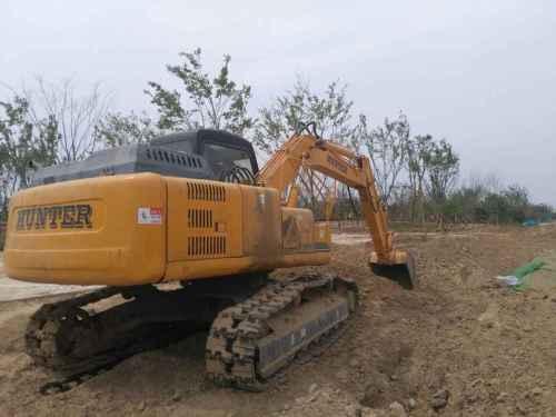河南出售转让二手4580小时2015年恒特重工HT150挖掘机
