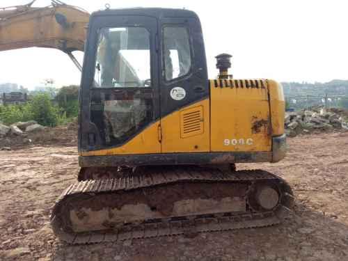 四川出售转让二手6000小时2011年山重建机908C挖掘机