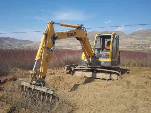 甘肃出售转让二手4000小时2013年临工LG660挖掘机