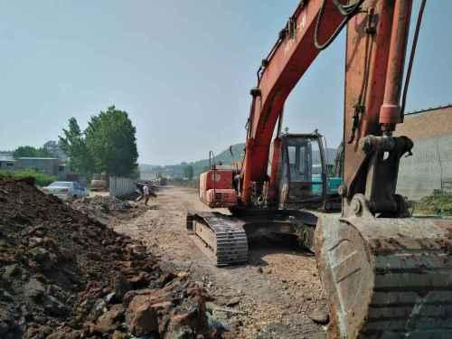 河南出售转让二手20000小时2003年日立EX200HHE挖掘机