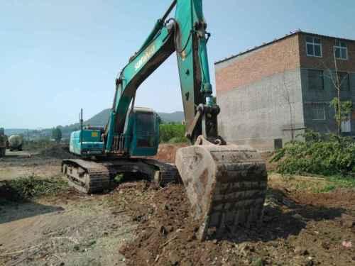 河南出售转让二手7000小时2010年山河智能SWE230LC挖掘机
