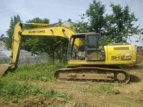 湖北出售转让二手14374小时2009年住友SH210挖掘机