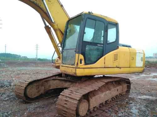 浙江出售转让二手12000小时2007年小松PC210挖掘机