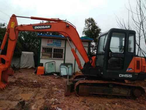 浙江出售转让二手70小时2016年斗山DH55挖掘机