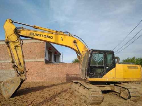 河北出售转让二手7000小时2010年住友SH210LC挖掘机