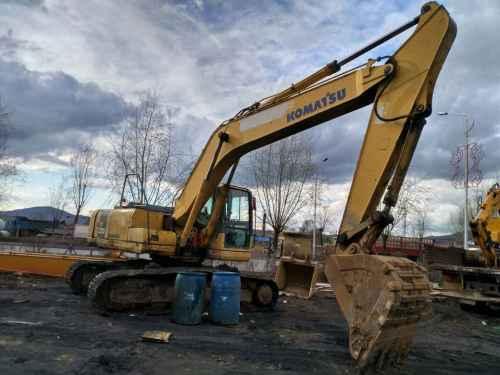 吉林出售转让二手10000小时2006年小松PC220挖掘机